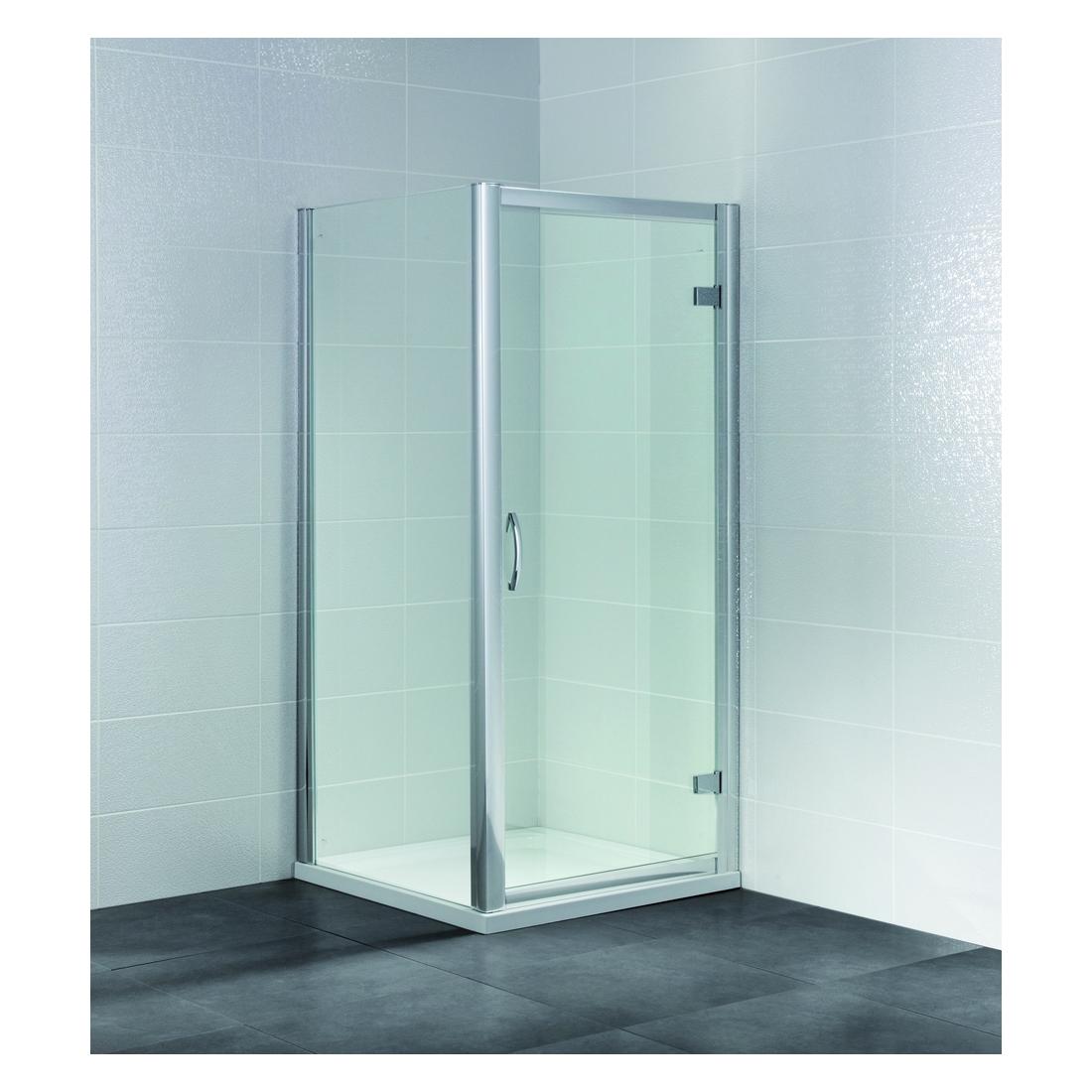April Identiti2 700mm Hinged Semi Frameless Shower Door AP9363