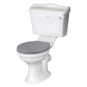Bayswater Porchester Close Coupled WC Pan (Excluding Seat)