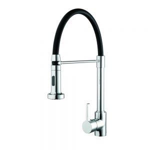 Bristan Liquorice Mono Sink Mixer with Pull Down Spray Chrome