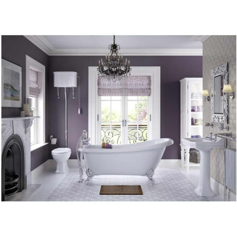 Bathrooms To Love Sherbourne BTW WC & Indigo Soft Close Seat