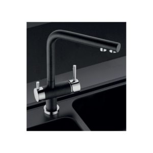 Clearwater Hydra Mixer & Cold Filter Tap Chrome/Nero