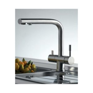 Clearwater Zuben Mixer & Cold Filter Tap Stainless Steel