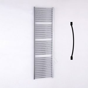 Essential Standard Towel Warmer Curved 1700x500mm Chrome