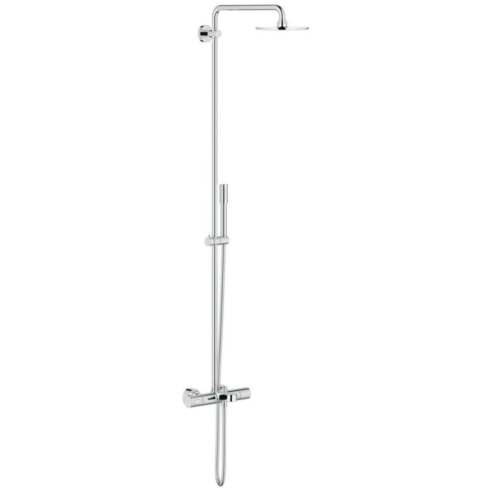 Bekannt Grohe Rainshower 210 Thermostatic Wall Bath Shower System 27641 TV37