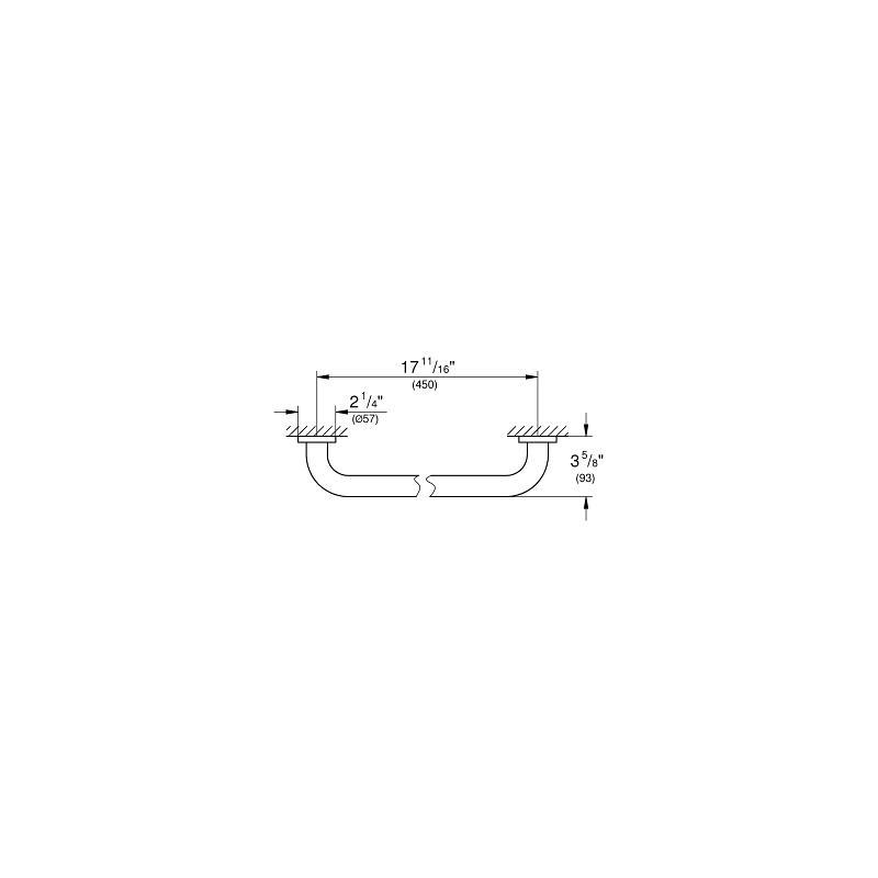 Grohe Essentials Grip Bar 40793
