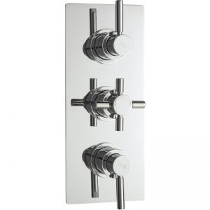 Hudson Reed Tec Pura Triple Thermostatic Valve with Diverter
