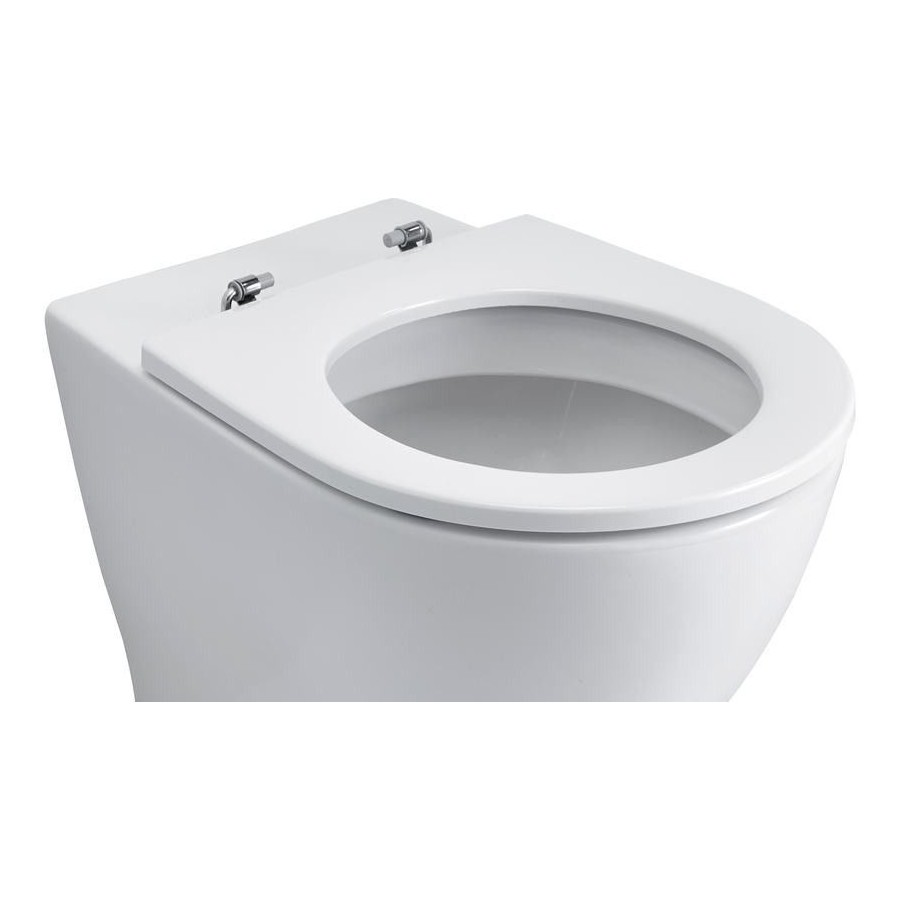 Ideal Standard Toilet.Ideal Standard White Toilet Seat Only E0022