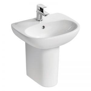 Ideal Standard Tesi 45cm Handrinse Basin 1 Hole T0313 White