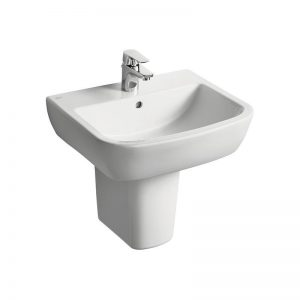 Ideal Standard Tempo 55cm Washbasin 1 Taphole T0586