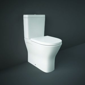 RAK Resort Maxi Back To Wall WC Pack with Wrap Over Seat