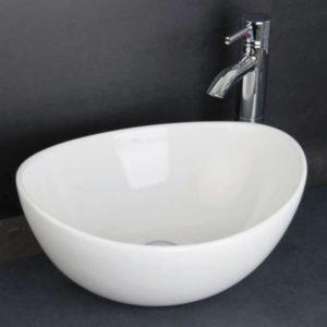 RAK Shell Sit On Wash Basin Bowl 39cm