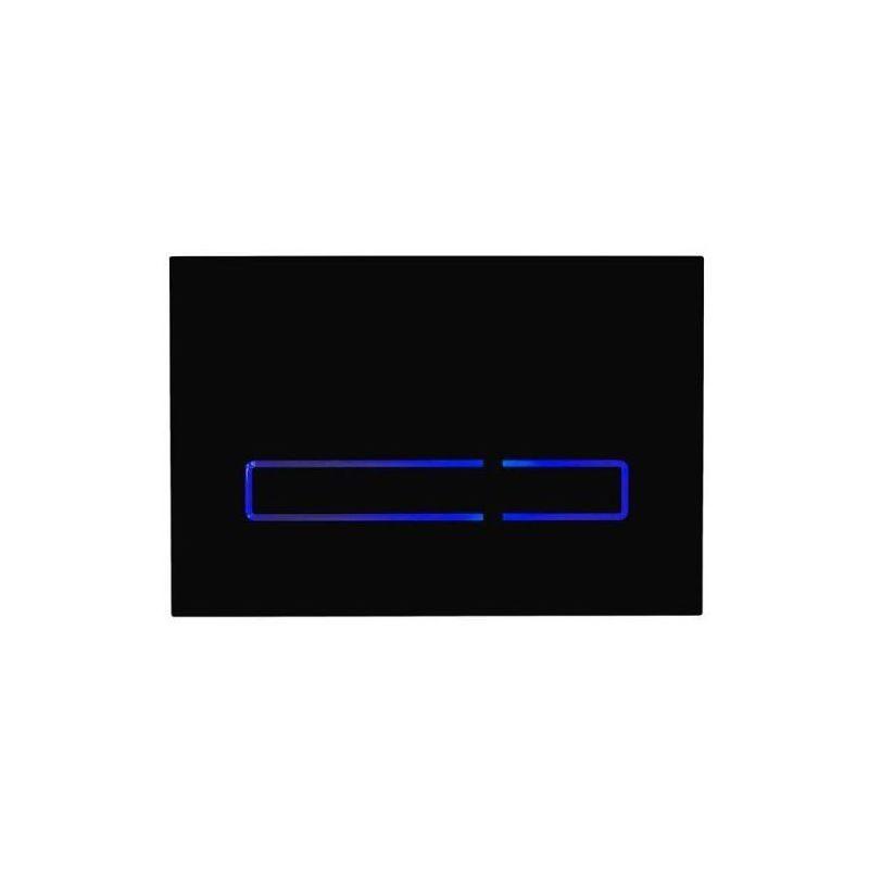Tavistock Sensor Dual Flush Plate Black