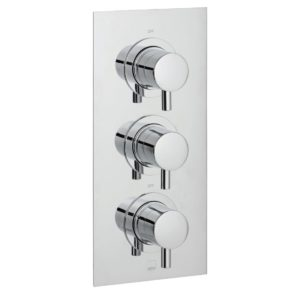 Vado Celsius 2 Outlet 3 Handle Thermostatic Valve