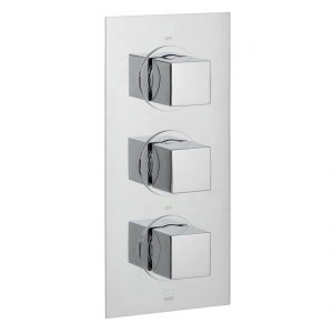 Vado Mix 2 Outlet, 3 Handle Thermostatic Shower Valve