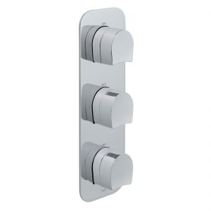 Vado Kovera 2 Outlet, 3 Handle Thermostatic Shower Valve